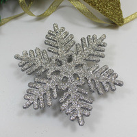 christmas metal snowflake ornament