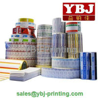 China guangzhou cheap food plastic packing film/sticker printing