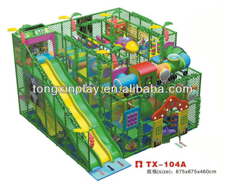 soft play indoor playground TX-104A
