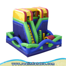 New style inflatable bouncy castles with slide, cheap inflatable bouncer combo and used party jumpers for sale