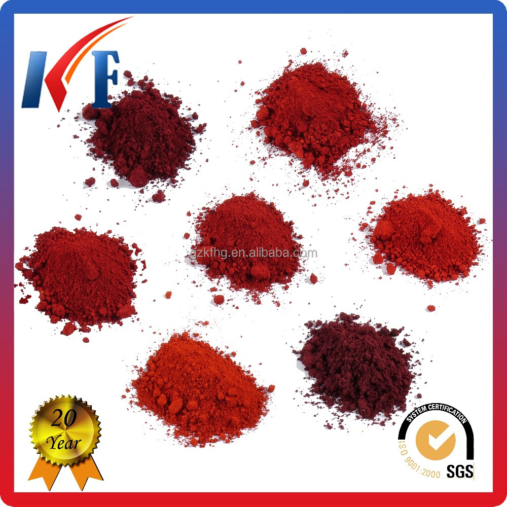 Good Inorganic Pigments Iron Oxide Red Mulch for Walk Ways