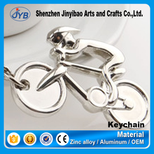 zinc alloy arts and crafts metal 3d bike shape key chain for sale