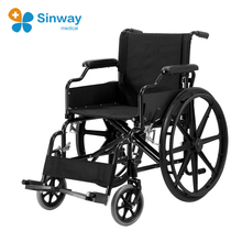 Steel Folding Standard Wheelchair For Disabled
