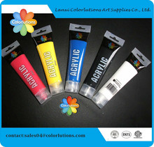 acrylic paints tube set 12ML nail art painting drawing tool for the artists High Quality
