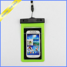 Phone Waterproof Bag with Lanyard/PVC Waterproof Pouch/Waterpoof Phone Bag