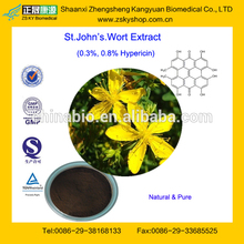 100% Pure Hypericum Perforatum Extract With Hypericin 0.3%