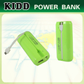 2015 KIDD rubber oil new power bank 5600mah HK electronics fair booth # 3F-C02