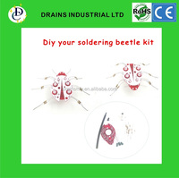 Soldering Leraning beetle DIY kit