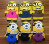 For iPhone 5/5s movie 3D cartoon design Despicable Me hot cellphone silicon case,paypal accept