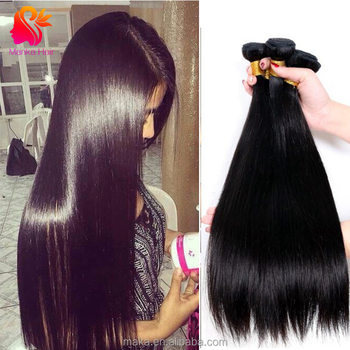 8A High Quality 100% Human Virgin Hair Peruvian Hair Extension Human Hair For Black Women
