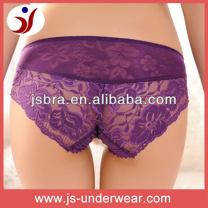 North America hot sell underwear thongs, high quality lace very hot underwear g-string, Ladies visible sexy hot panty underwear