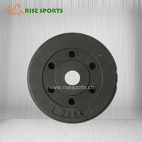 Cement Filling Barbell Plate
