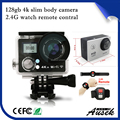 2017 new design 4k camera go pro 128gb momery wifi remote sport action camera