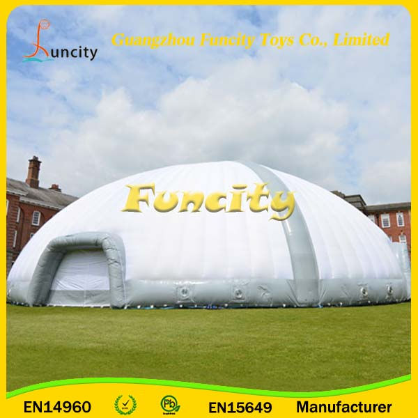 Indoor/outdoor commercial used inflatable dome tent,camping show tent inflatable lawn tent for sale