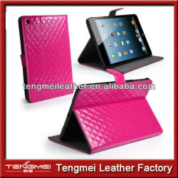 Wholesale Shockproof And Waterproof PU Leather Wallet Case For Ipad Mini 3