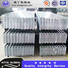 GI galvanized sheet metal prices galvanized steel building material