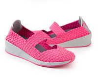 new stylish hot selling comfortable elastic strap latest footwear design canvas girl shoes