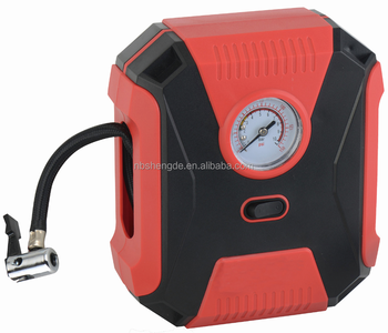 New model 12V multi-function car tire inflator