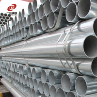 Best price welded hot dipped rigid thin wall galvanized steel conduit pipe