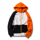 Wholesale street wear hip hop style hoodies color black velvet hoodies