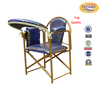 2015 hot sale metal Knock Down Portable Prayer Church Chair