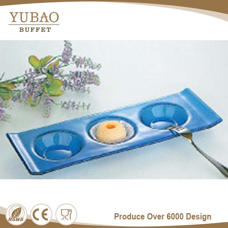Disposable Sushi Tray, Plastic Plate With Divider, Plastic Paper Plate Holder