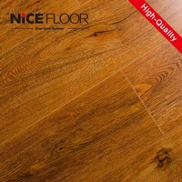 AC5 High Density Fiberboard waterproof double click hdf pvc wpc wooden plastic laminate flooring
