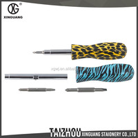 High Quality Custom metal floral screwdriver tool
