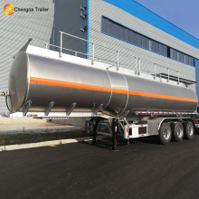3 Axle 20000l Tank Truck Aluminium Oil Tanker Trailer Oil Storage Tanker Trailer for Sale