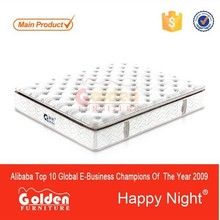 Comfortable designs spring mattress bed S8343