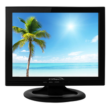 Led backlight desktop computer 13 inch lcd monitor with vga