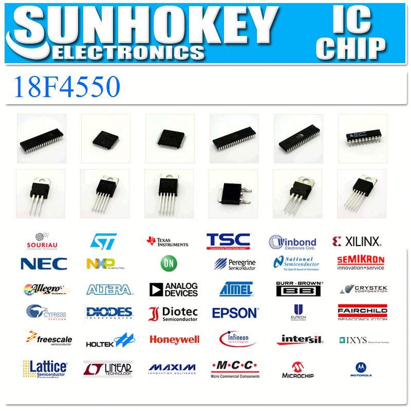 (IC)18F4550 Integrated Circuit electronic chips laptop