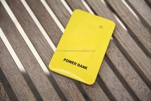 Best quality colorful high capacity 10000mAh super slim size touch switch power bank with custom logo printing