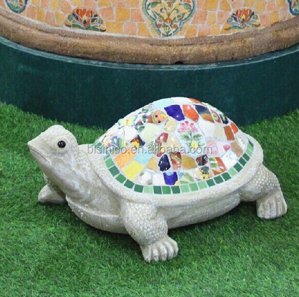 Ceramic mosaic animals garden decoration lovely turtle shape ceramic mosaic animals garden decoration lovely turtle shape outdoor ornaments bf01 p1025 workwithnaturefo