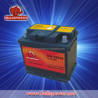 12v 55ah rechargeable mf car/auto batteries