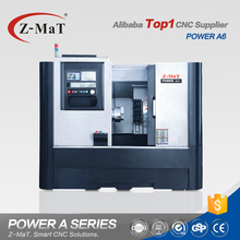 Chinese top supplier best price Power A6 slant bed heavy duty cnc lathe