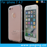 Hot Cellphone Case 2016 Newest Clear Thickened Bumper Case Soft TPU For iPhone 7 Case Transparent