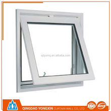 soundproof good double glazed upvc awning window comply with code