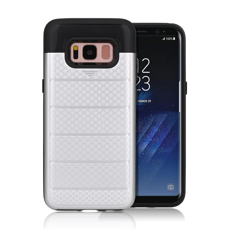 Soft Skin Silicone Hard Protective PC cover for samsung galaxy s8 case