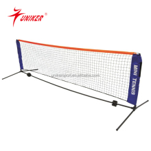 Hot selling OEM MINI durable PE tennis nets