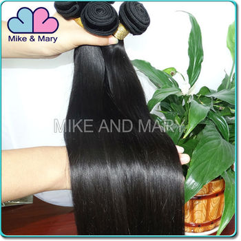 Qingdao Wholesale for Full cuticle handmade silky straight natural color 100% unprocessed Brazilian hair extensions