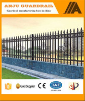 Gates and steel fence design for villa and garden DK003