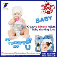 Wholesale educational toy,silicone letters toys,creative baby toys