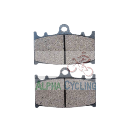 wholesale motorcycle disc brake pads AC120 for KAWASAKI-ZXR 400/ ZZR 400;SUZUKI-RG 125/ VL 1500 /VL 1500 AC120