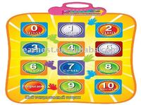 2015 NEW Learning Number Games for Kids(Russian Language),Playing Mat for Kids