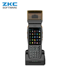 ZKC PDA3502 3G WiFi NFC/RFID GPRS pda built-in thermal printer For Restaurant Online Store lotto receipt printing