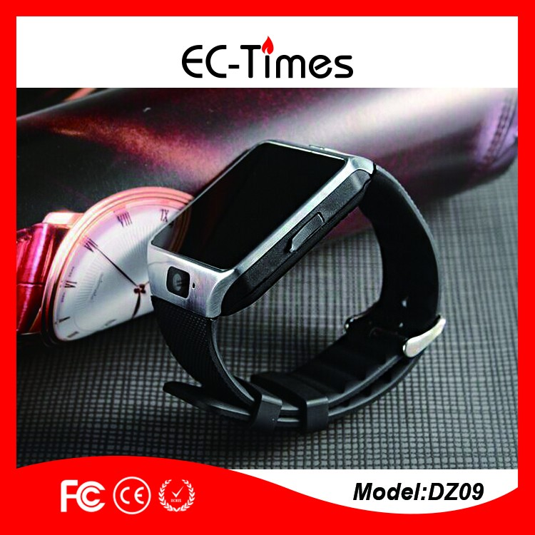 Factory low price dz09 sim card smart watch phone dz09 and all cheap smart watch