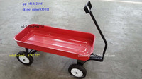 "Metal Kid's Wagon with 4 Solid wheels 8""*1.75"""