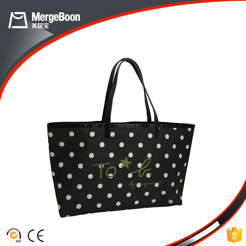 New arrivals oxford fabric reusable shopping bag with zipper manufacturer