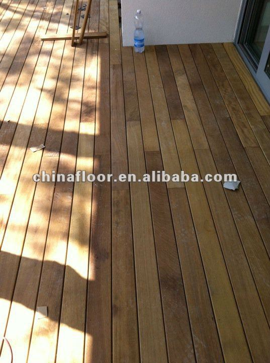 Foshan Asian Teck wood balcony Patio decking